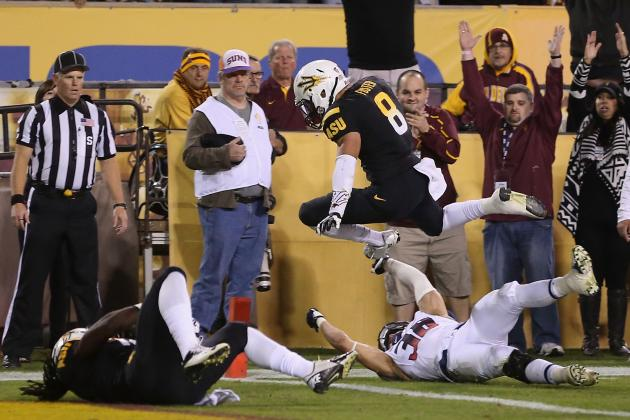 Arizona vs. Arizona State: Live Score and Highlights