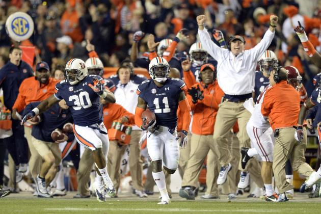 Auburn vs. Missouri 2013 SEC Title Game Is Easily Most Unexpected Matchup Ever