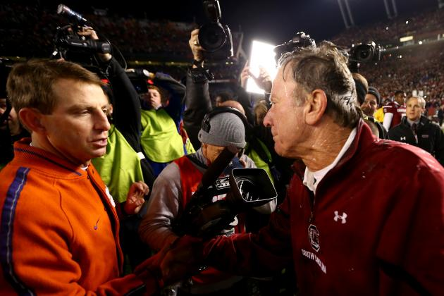 Steve Spurrier Outcoaches Dabo Swinney, Once Again
