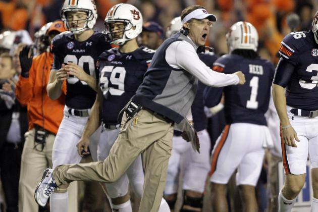 Gus Malzahn Ruins Nick Saban's Dynasty, Locks Up Coach of the Year in Iron Bowl