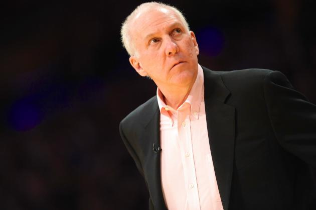 Gregg Popovich's San Antonio Spurs Never Go Away