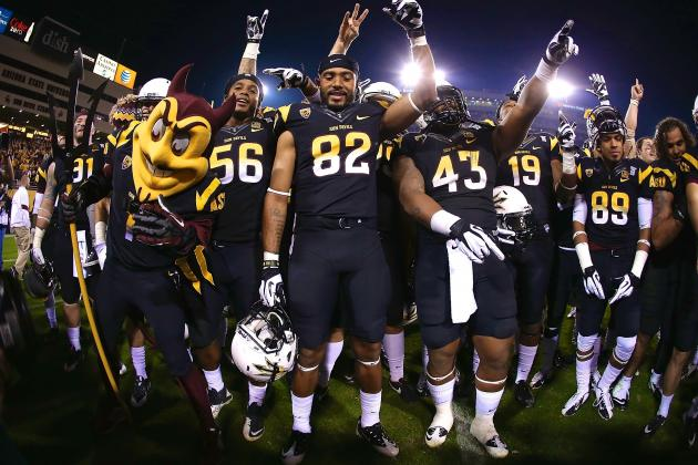 Arizona State Goes from Unlikely Pac-12 South Contender to Rose Bowl Favorite