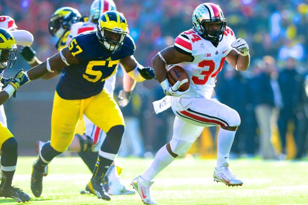 Ohio State's Carlos Hyde Is on a Mission, and Nobody Can Stop Him