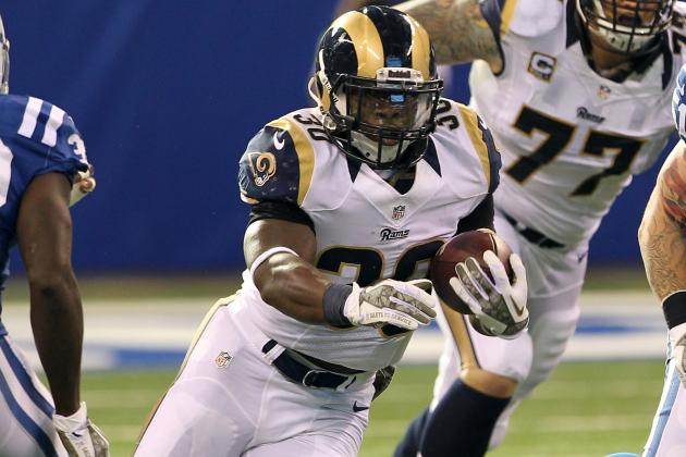 Zac Stacy Injury: Rams RB Will Be Fantasy Flop in Week 13