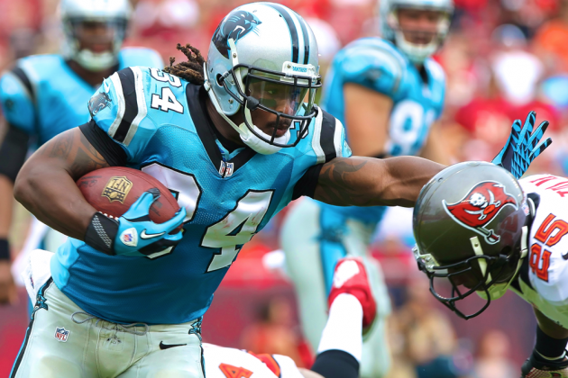 DeAngelo Williams Injury: Updates on Panthers RB's Quad and Return
