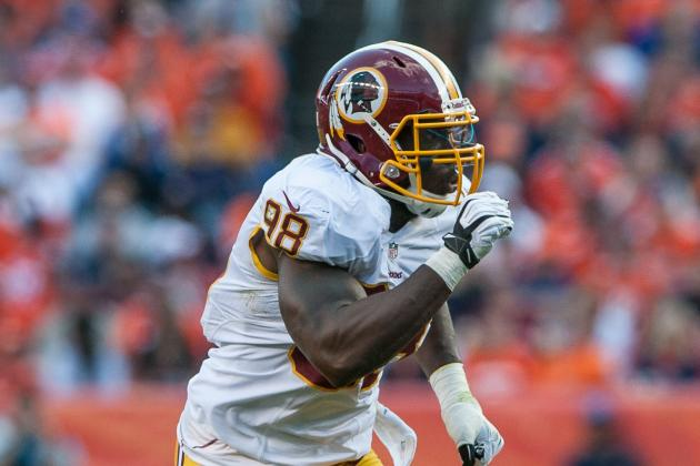 Despite Skins' Struggles, Orakpo Is Surging