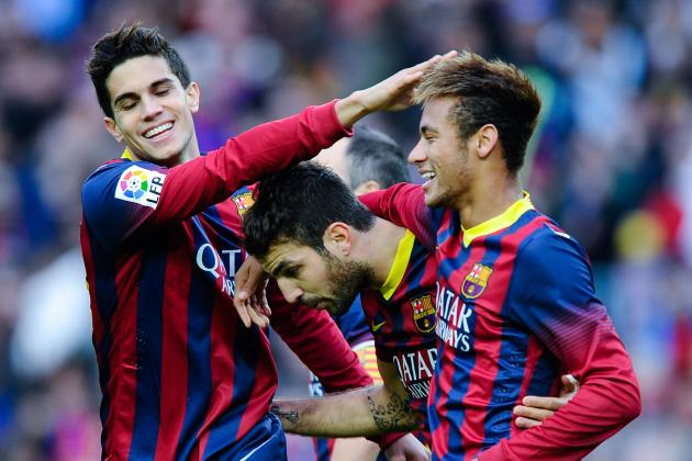 Athletic Bilbao vs. Barcelona: Live Player Ratings for Barca