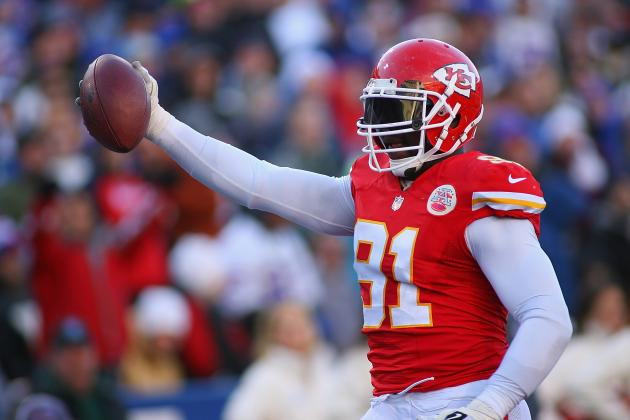 Tamba Hali, Eric Fisher and Mike DeVito All Active vs. Broncos