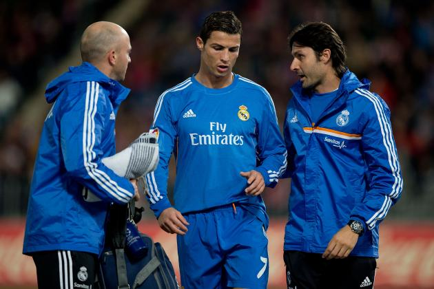 Cristiano Ronaldo's Thigh Injury Should Be Major Concern for Real Madrid