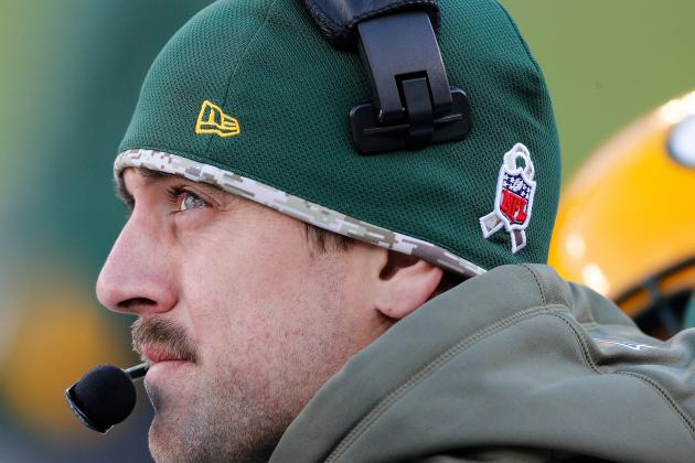 Aaron Rodgers Should Be Shut Down for Remainder of Packers' Season