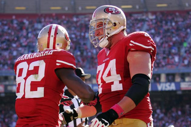 Joe Staley out for Rest of Game vs. Rams After Suffering Knee Injury