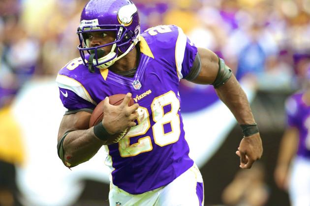Adrian Peterson Joins Jim Brown, Eric Dickerson as Quickest to 10,000 Rush Yards
