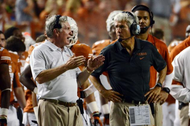 Texas Football: How Mack Brown Salvaged the 2013 Season