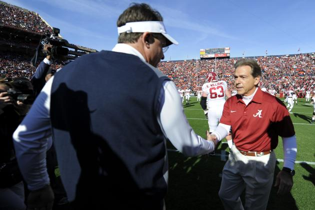Nick Saban vs. Gus Malzahn Matchup Will Carry Iron Bowl to New Heights