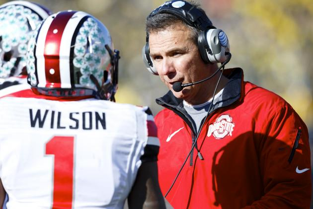 Urban Meyer Will Not Suspend Ejected Players from Big Ten Championship Game