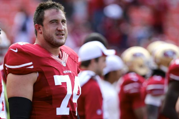 Joe Staley Injury: Updates on 49ers OT's Knee, Likely Return Date