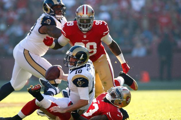 49ers Beat Up Rams, Sweep Season Series