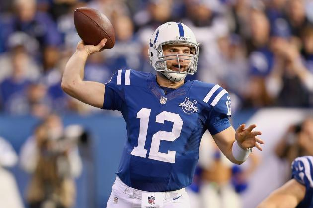 Andrew Luck Must Find His Form If the Colts Are to Make a Playoff Run