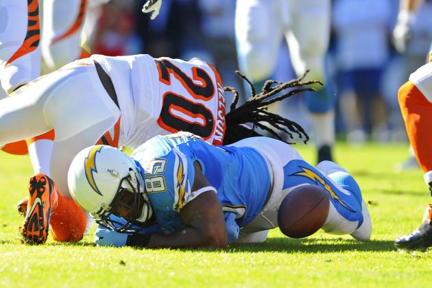 Turnovers Doom San Diego Chargers in Week 13 as Playoff Hopes Begin to Fade