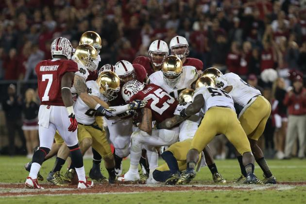 Notre Dame Football: Can Irish Claim Moral Victory for Stanford Loss?