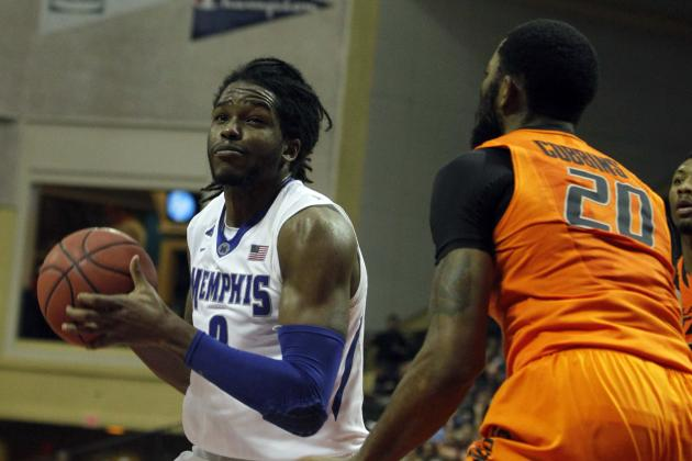 Memphis Storms Back in Second Half to Upend Oklahoma State 73-68