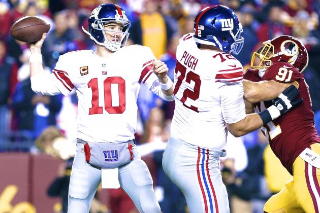 Giants vs. Redskins: Live Score, Highlights and Reaction
