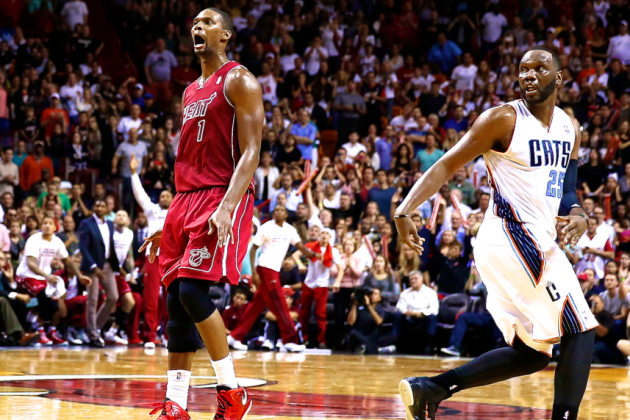 Chris Bosh Comes Back from the Dead (Again) for the Miami Heat