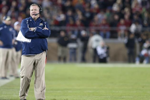 After Loss to Stanford, What Are Notre Dame's Bowl Options?