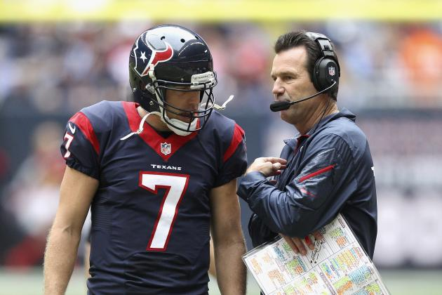 Texans' Second-Half Struggles Are the Real Problem for Gary Kubiak