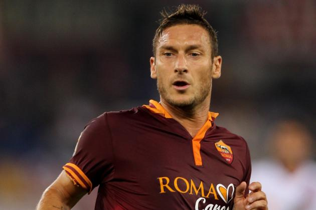 Francesco Totti Transfer from Roma to Monaco Ruled Out by Vadim Vasilyev