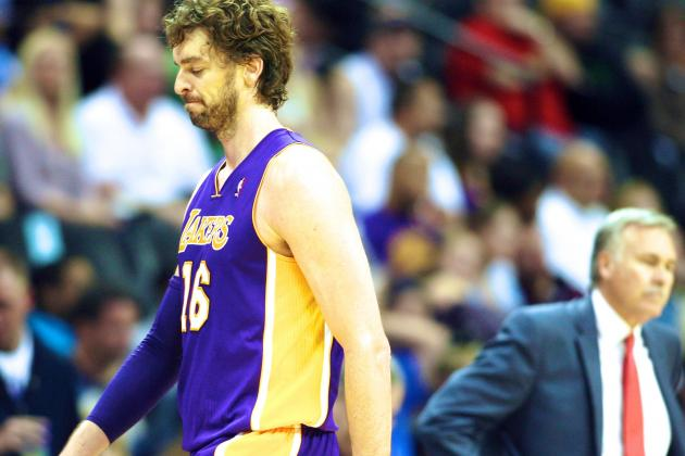 Pau Gasol Transforming from Lakers' Past Champion to Present Disappointment