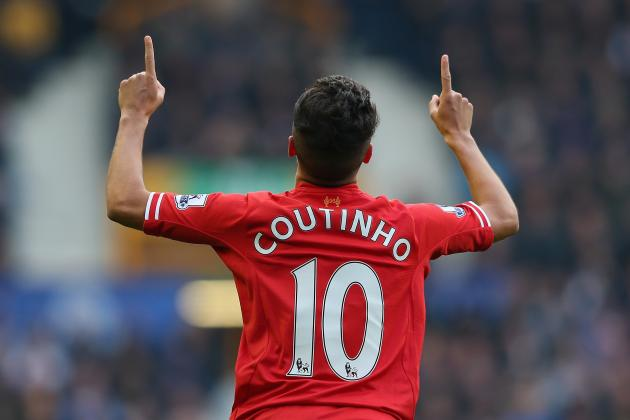 Philippe Coutinho Fit for Liverpool vs. Norwich, Confirms Brendan Rodgers