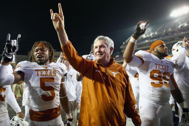 Texas Football: Mack Brown's Future Is, in Fact, on the Line vs. Baylor