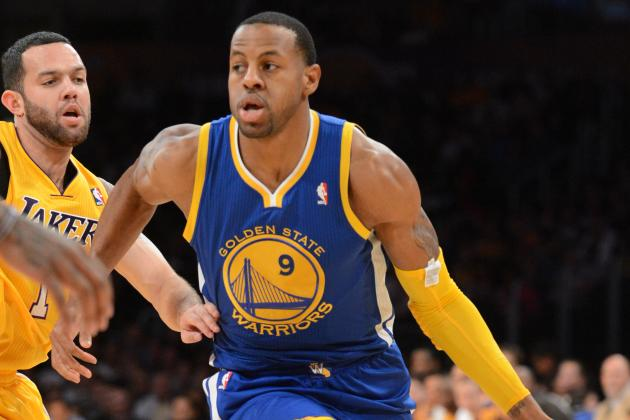 Jackson Says Iguodala Is 'Closer and Closer' to Returning