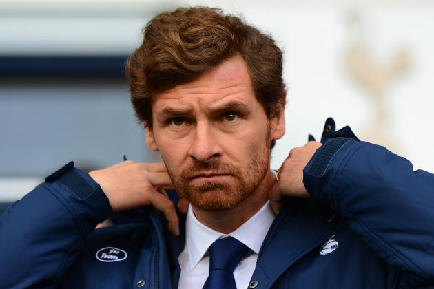 Andre Villas-Boas Has Shown Immaturity at Tottenham, Says Sam Allardyce