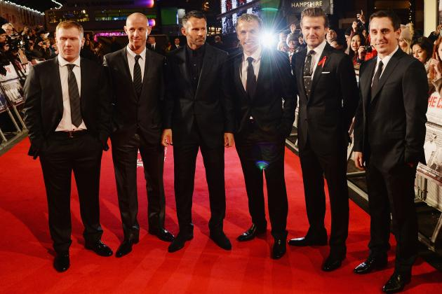 Watch David Beckham, Ryan Giggs, Paul Scholes, More at Class of '92 Premiere