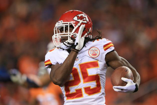2013 Fantasy Football Running Back Rankings: NFL Week 14