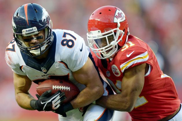 Broncos' Eric Decker Burns Chiefs' Marcus Cooper with Four-TD Day