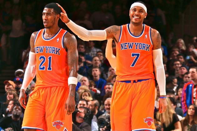 Iman Shumpert Benched in 4th Quarter After Shouting Match with Carmelo Anthony