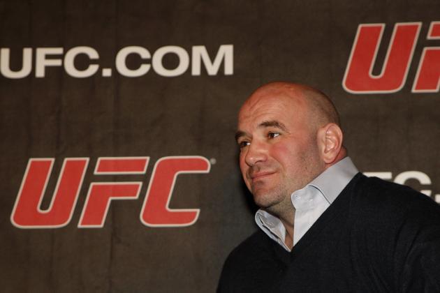 Dana White Denies Apologizing to Georges St-Pierre