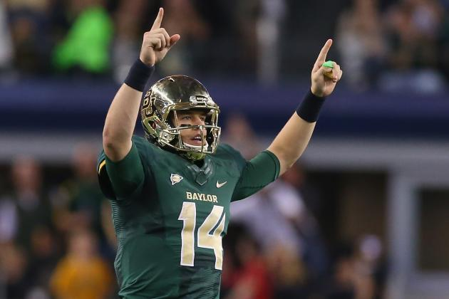 Bryce Petty Returning to Baylor in 2014 Should Have Bears Fans Thinking Big