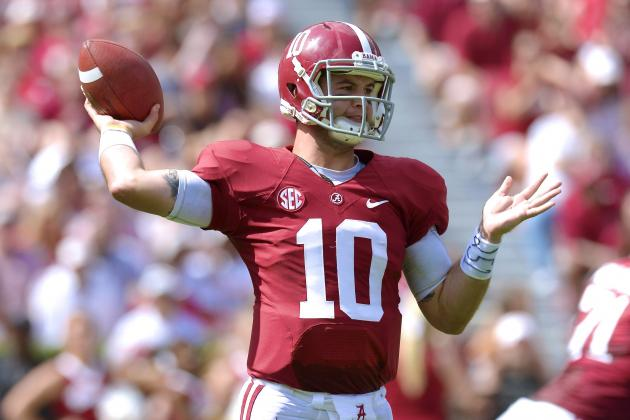 NFL Scout Says Alabama QB AJ McCarron Is Similar to Tom Brady