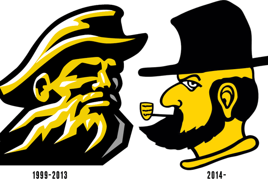 Appalachian State's New Logo Looks Like It Was Drawn by a Little Kid