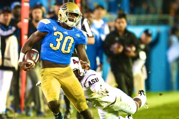 UCLA's Myles Jack Wins Pac-12 Offensive and Defensive Freshman of the Year