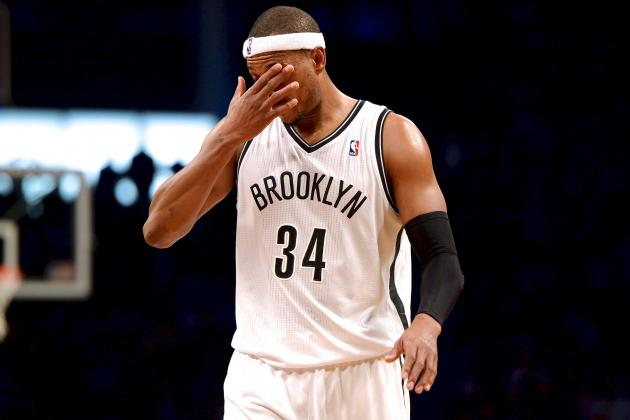 Paul Pierce Injury the Latest Sign That Brooklyn Nets Team Wasn't Meant to Be