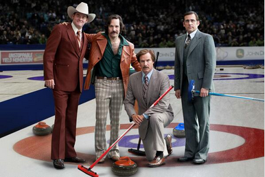 Canada Olympic Trials 2014: Ron Burgundy Steals Show at Curling Qualifiers