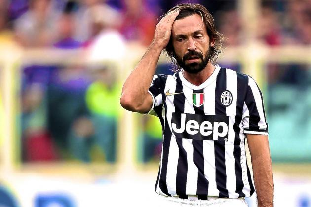 What Andrea Pirlo Injury Absence Means for Juventus