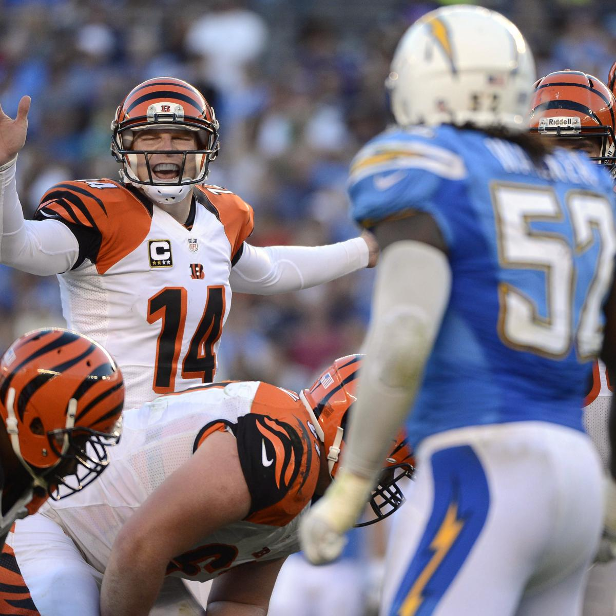 San Diego Chargers Cincinnati Bengals: Bengals Vs. Chargers: Full Roster Report Card Grades For