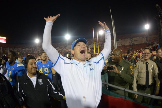 UCLA Football: Grading the Bruins' 2013 Season
