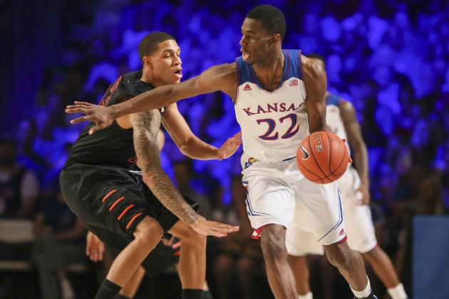Breaking Down How Andrew Wiggins Can Reverse Sluggish Start to Kansas Career